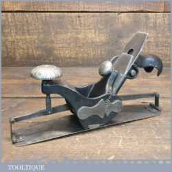 Antique 19th C Stanley Rule & Level Co. USA No: 113 Circular Compass Plane - Fully Refurbished
