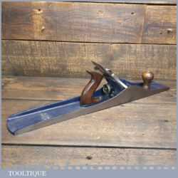 Vintage 1930's Record No: 08 Jointer Plane - Fully Refurbished Ready To Use