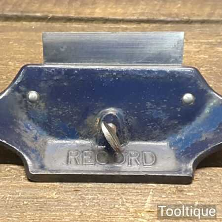Vintage Record No: 080 Cabinet Scraper - Fully Refurbished Ready To Use