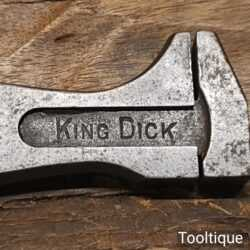 """Vintage King Dick 4"""" Adjustable Spanner Wrench - Fair Condition"""