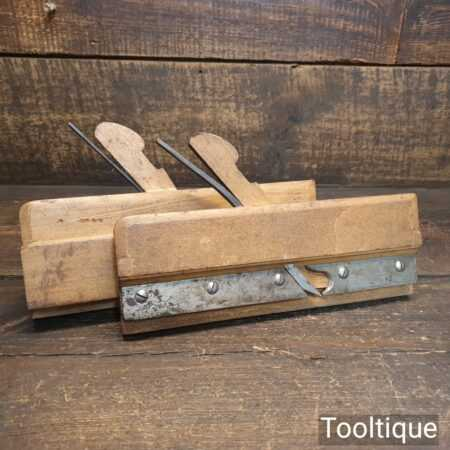 "Antique 5/8"" Alex Mathieson & Son 3/16"" Tongue & Groove Beechwood Planes"