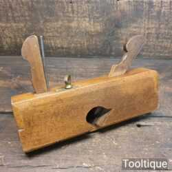 "Antique Stothert of Bath 1783-1841 ¾"" Dado Beechwood Moulding Plane - Good Condition"