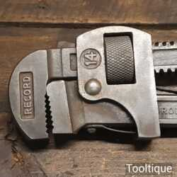 """Vintage Record 14"""" Stillson Pipe Wrench - Good Condition"""