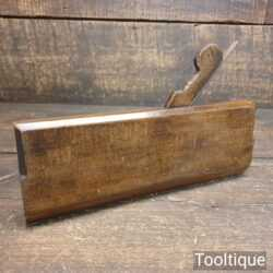 Antique 18th Century No: 11 Hollow Beechwood Moulding Plane