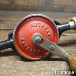 Vintage Stanley No: 803 double pinion egg beater hand drill