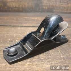 Vintage Stanley No: 102 Block Plane - Fully Refurbished Ready To Use