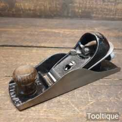 Vintage Stanley England No: 220 Adjustable Block Plane - Fully Refurbished