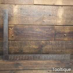 Vintage Stanley USA No: R100B Steel Roofing Square - Good Condition