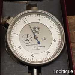 Vintage Boxed Engineering No S3 Baty Rustless Dial Gauge - Good Condition