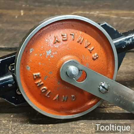 Vintage Stanley No: 803 Double Pinion Egg Beater Hand Drill - Good Condition