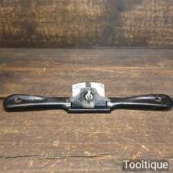 Vintage Stanley England No: 63 Curved Sole Metal Spokeshave - Ready To Use
