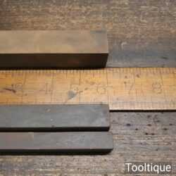 Selection Of 3 Square Slip Stones - Good Condition