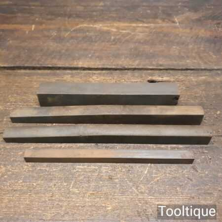 Selection Of 4 No: Natural Slip Stones - Good Condition