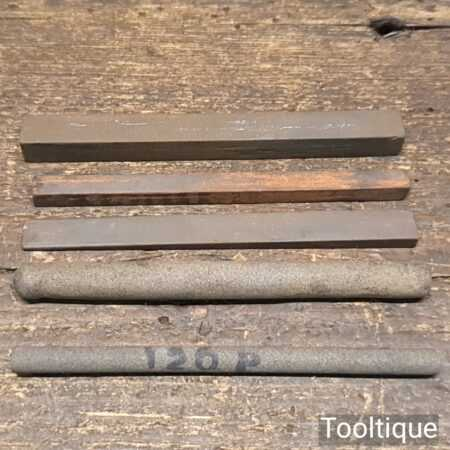 Selection Of 5 No: India Slip Stones - Good Condition