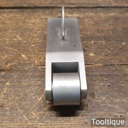 """Vintage Solid Alloy Seam Roller Tool ¾"""" Wide Wheel - Good Condition"""