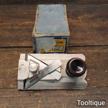 Vintage Boxed Record No: 2506 Side Rabbet plane Complete - Fully Refurbished