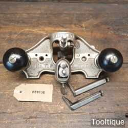 Vintage Stanley No: 71 Hand Router Plane Complete - Good Condition