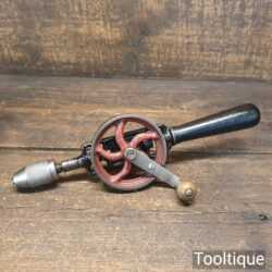 Vintage Single Pinion Egg Beater Hand Drill - Good Condition