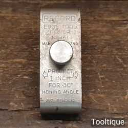 Vintage Record No: 161 Edge Tool Honing Guide - Good Condition