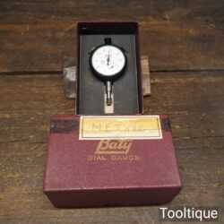 Vintage Boxed Baty Shockproof Metric Dial Gauge - Good Condition