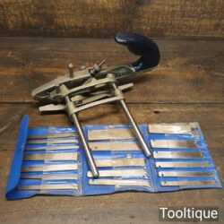 Vintage Record No: 050C Combination Plough Plane - Fully Refurbished