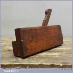 Antique 19th C Complex Moulding Plane By John Ames & Son of London 1832-44