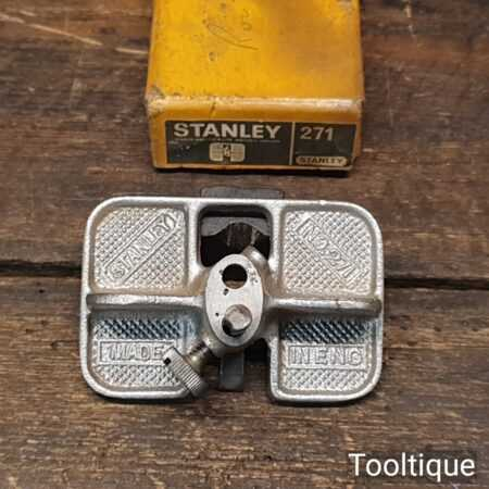 Vintage Boxed Stanley No: 271 Router Plane - Good Condition