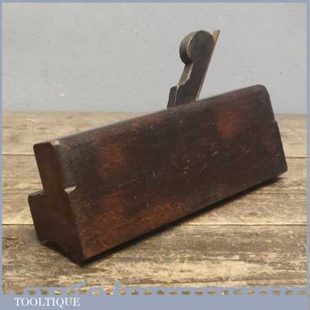 Antique Speight, George Squire Square Ovolo Moulding Plane C 1870-90.