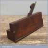Antique King & Co Hull Quirk Ovolo & Astragal Moulding Plane 1864-81