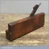 Antique S King Hull Square Ovolo Moulding Plane C 1790-1806