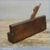 Antique 18th Century Unusual Marked Quirk Ogee Moulding Plane