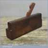 Antique G Eastwood Of York 5/8 Quirk Ogee Moulding Plane C 1851-90