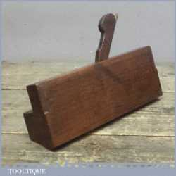 Antique 19th Century Hathersich Of Manchester Moulding Plane