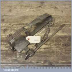 Vintage Gin Trap With Brass Tongue And Catch Stamped 200 - Decorative