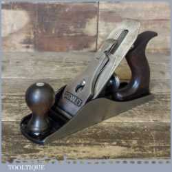 Vintage Stanley Made In England No: 4 Smoothing Plane - Fully Refurbished
