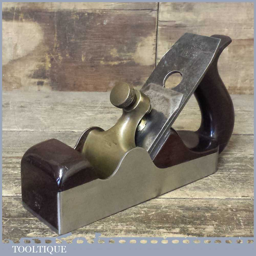 Antique Spiers Of Ayr No:27 Dovetailed Smoothing Plane In Lovely Condition