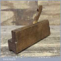 Scarce Antique March & Winn Cove & Astragal Moulding Plane Late 18th Early 19th Century