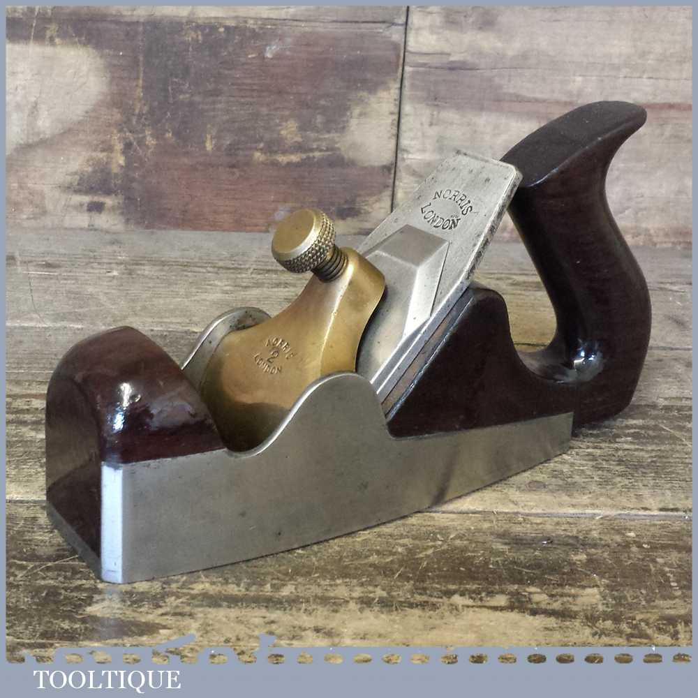 Antique Pre-War Norris No: 2 Smoothing Plane With Original Parallel Iron