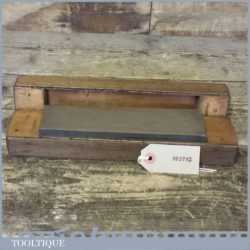Vintage Boxed Medium Grit Sharpening Oil Stone - Good Condition