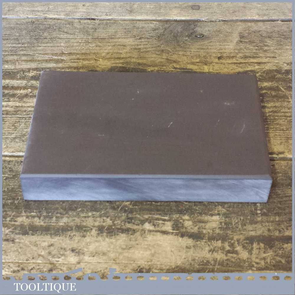 "Very Fine Grade Natural Welsh Slate Honing Oil Stone - 5 ¾"" Long x 3 ¾"" Wide x 1"" Thick"
