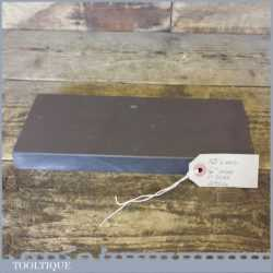 "Extra Large 10"" x 4"" x 1"" Wide Very Fine Grade Natural Welsh Slate Honing Oil Stone"