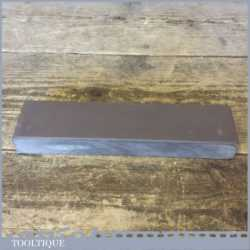 "Fine Very Fine Grade Natural Welsh Slate Honing Oil Stone - 7 ¾"" Long x 1 ¾"" Wide x 1"" Thick"