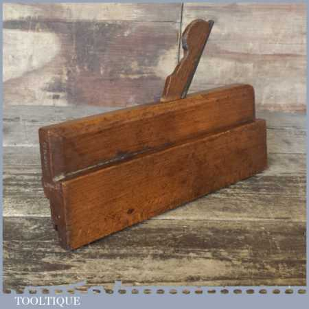 Antique Grooving Moulding Plane With No: 3 Cutter - Good Condition