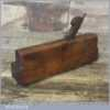 Antique James Higgs 18th Century Grecian Ogee Moulding Plane 1780-1817 London