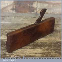 Antique William Moss Early 19th Century Hollow Moulding Plane