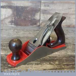 Vintage Marples & Sons England No: 4 Smoothing Plane - Fully Refurbished