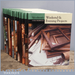 Woodsmith Custom Woodworking Book – Weekend And Evening Projects