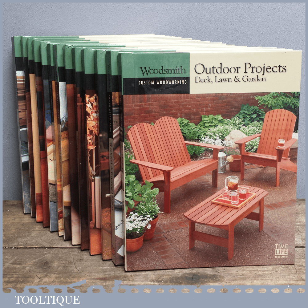 Woodsmith Custom Woodworking Book – Outdoor Projects