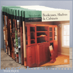 Woodsmith Custom Woodworking Book – Bookcases Shelves and Cabinets