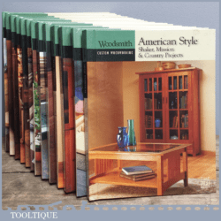 Woodsmith Custom Woodworking Book – American Style